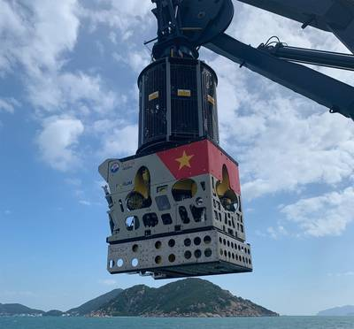 Forum Energy Technologies' remotely operated vehicle (ROV), the Perry XLX-C, has reportedly completed harbor trials for the Vietnam Navy. Photo: Forum