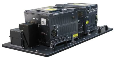 The Galaxy T2000 combined with the G2 sensor System delivers unprecedented densities (Photo: Teledyne Optech)