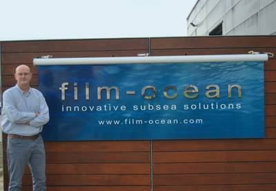 George Gair at Film-Ocean Ltd, Ellon, Aberdeenshire (Photo: Film-Ocean)