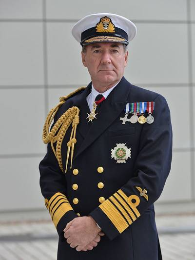 Sir George Zambellas (Photo: Mark Rawlings / MOD)