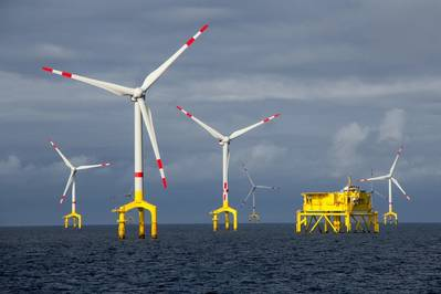 A U.S. government auction for three wind leases off the coast of Massachusetts ended on Friday with record-setting bids totaling more than $400 million from European energy giants including Royal Dutch Shell Plc and Equinor ASA.. Photo:  © benoitgrasser/AdobeStock
