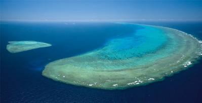 Great Barrier Reef: Image courtesy of Cairns GBR