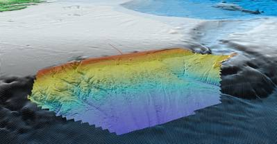 High-resolution bathymetric map of the Carson Basin, a frontier region offshore Newfoundland. Fugro acquired the data which will help E&P companies to evaluate lease options for Newfoundland and Labrador's 2019 licensing round. (Image: Fugro)