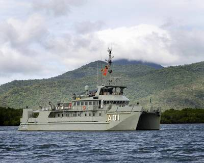 HMAS Paluma (IV) (Photo: Royal Australian Navy)