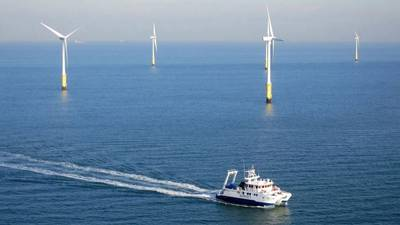 The Hollandse Kust Zuid wind farm. Image: Vattenfall