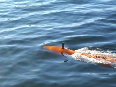 HUGIN AUV System (Photo: Kongsberg Maritime)