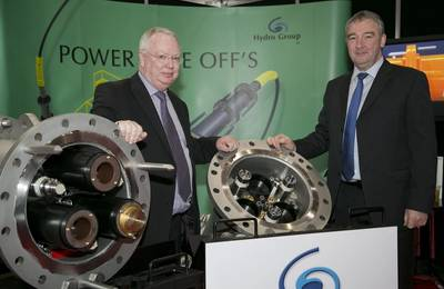 (L-R) Hydro Group MD Doug Whyte and Hydro Group Sales Director Graham Wilkie
