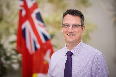 Isle of Man Ship Registry Director Cameron Mitchell