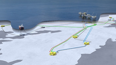 Johan Sverdrup subsea layout (Image: Equinor)