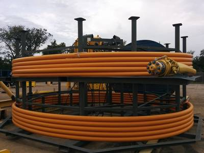 A TCP Jumper being prepared by Airborne Oil & Gas for deployment in West Africa (Photo: Airborne Oil & Gas)