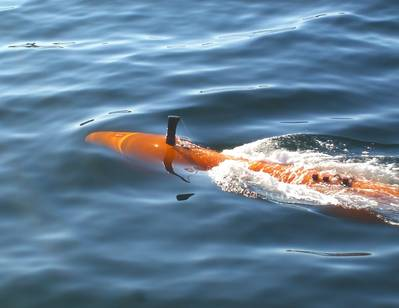 Kongsberg Maritime's HUGIN AUV is a powerful tool for deep-water hydrographic surveys. Photo: Kongsberg