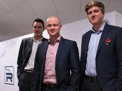 Left to right: Paolo Cattaneo, Brett Laurenson and Alex Pretty (Photo: Rovco)