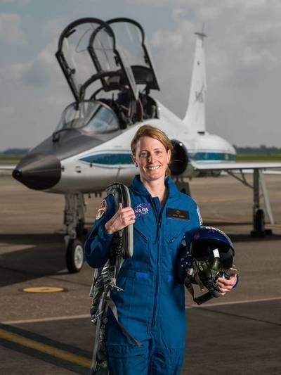 Loral O'Hara (Photo: NASA)