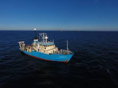 MMT´s Survey and ROV vessel Franklin (Photo: MMT)
