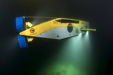 MMT's Surveyor Interceptor ROV (Photo courtesy of EdgeTech)