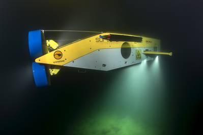 MMT's Surveyor Interceptor ROV (Photo courtesy of EdgeTech)