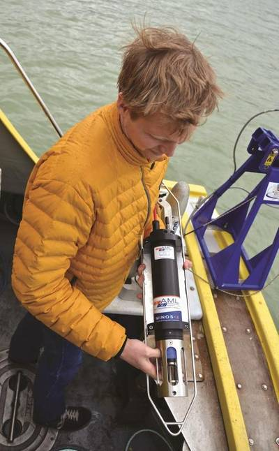 AML Oceanographic products include a modular range of instruments with field-swappable sensor heads. (Photo: Applied Acoustic Engineering Ltd.)