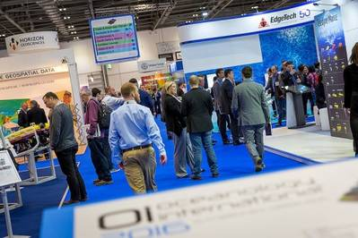 Oceanology International heading to North America (Oceanology International 2016 at ExCeL London pictured) (Photo: OINA)