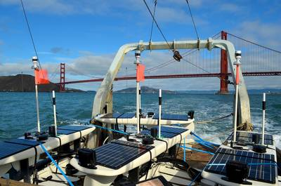 PacX Wave Gliders in transit to launch of San Francisco