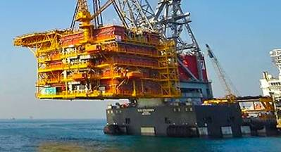 Seaway Heavy Lifting & Shell Sign Offshore Installation
