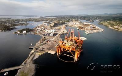 Photo courtesy of Semco Maritime