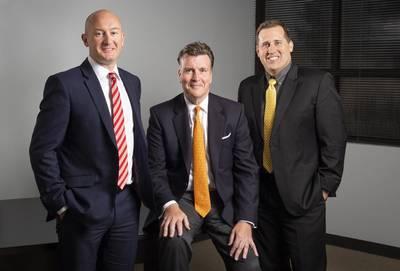 Proserv's management team: Davis Larssen (left), David Currie (middle) and David Nemetz (right) (Photo: Proserv)