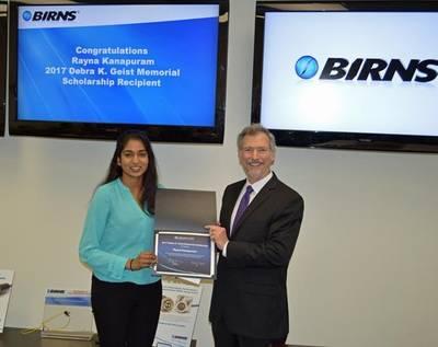 Rayna Kanapuram with Eric Birns (Photo: BIRNS)