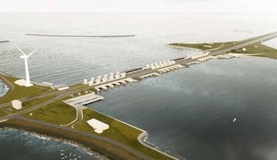 Rijkswaterstaat awards Afsluitdijk project to Levvel Photo Van Oord