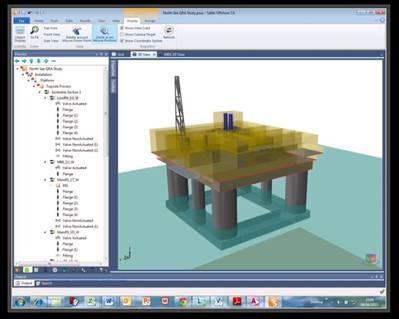 DNV Safeti Support Display: Image credit DNV