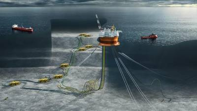 Schematic of the Goliat field in the Norwegian Barents Sea (courtesy ENI Norge AS)