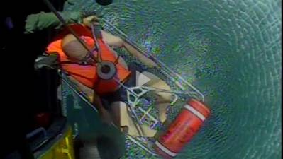 (Screenshot from U.S. Coast Guard video by Air Station Elizabeth City)