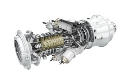 The SGT-300 gas turbine - Credit: Siemens