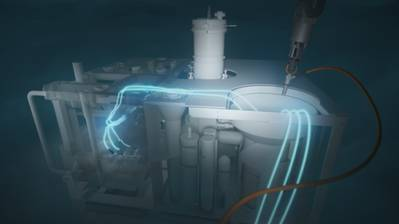 Siemens Energy's DigiTRON connector provides electrical and fiber-optic connector systems for subsea power and communications.