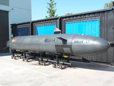 Solus-LR AUV (Photo: Cellula Robotics)