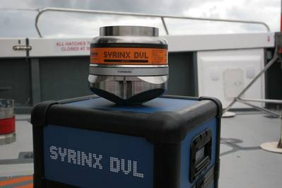 Sonardyne said tight integration between its Syrinx DVL and SPRINT INS will provide accuracy, precision and integrity for Kasetsart University's long range AUV (Photo: Sonardyne)