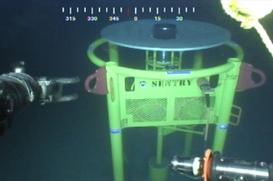 Sonardyne's Sentry IMS in the US Gulf of Mexico (Photo: Sonardyne)