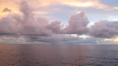 A new study uses a method of tracking the strength of near-shore ocean currents from a distance via measurements of coastal sea level. (Photo by Carol Anne Clayson, Woods Hole Oceanographic Institution)