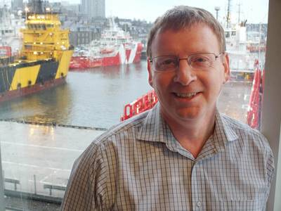 DOF Subsea, ROV Support Engineer, Kenny Stewart