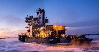 Swedish icebreaker Oden (Photo: University of Rhode Island)