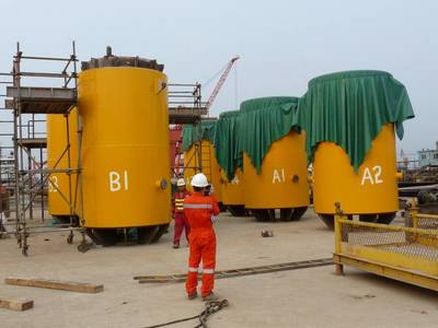 Trelleborg's leg mating units supplied for China floatover project
