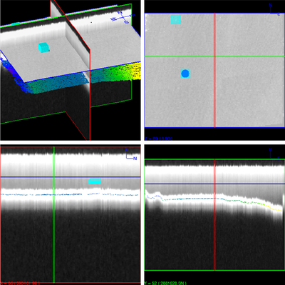 Underwater object detection by Optech CZMIL HydroFusion