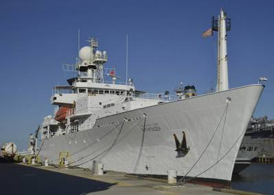 USNS Maury  (US Navy photo by Robert Fluegel)