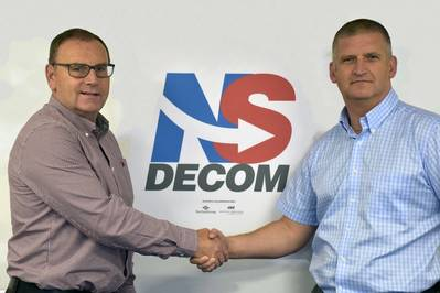 Walter Robertson and Craig Smith (Photo:  NS Decom)