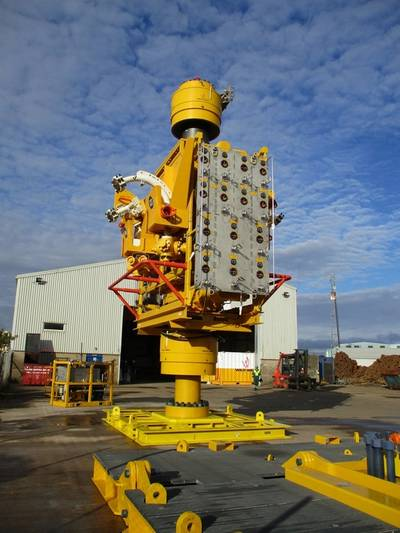 WellCONTAINED subsea capping stack (Photo: Wild Well Control)