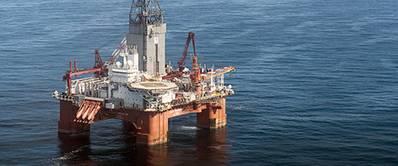 The West Hercules drilling rig. (Photos: Ole Jørgen Bratland)