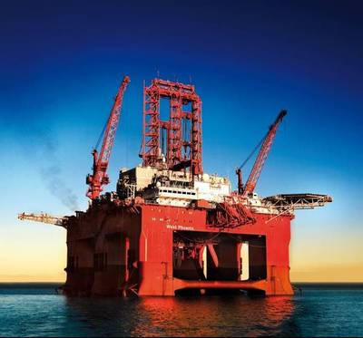 West Phoenix drilling rig - Image  Credit: Seadrill