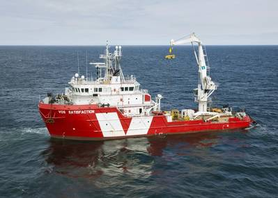 MMT will use the Subsea Support Vessel VOS Satisfaction for this assignment.