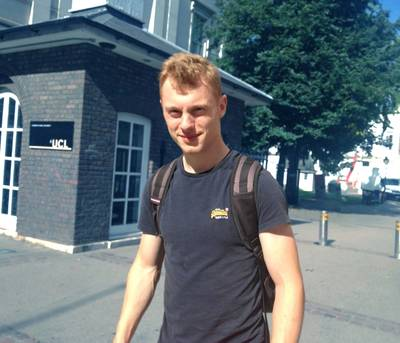 The winner of UCLs NORBIT prize this year is James Gibbons. Photo courtesy Norbit/UCL