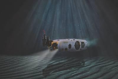 Θαλάσσια σφήνα του Saab Seaeye MCM ROV (φωτογραφία: Saab Seaeye)