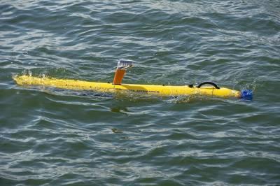Беспилотный подводный аппарат Bluefin-9 (UUV). Изображение: General Dynamics Mission Systems